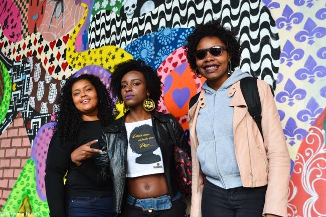 Quem são e o que pensam as mulheres da 3ª Marcha do Orgulho Crespo de São Paulo 2