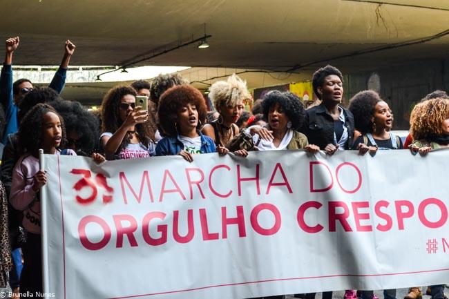 Quem são e o que pensam as mulheres da 3ª Marcha do Orgulho Crespo de São Paulo 7
