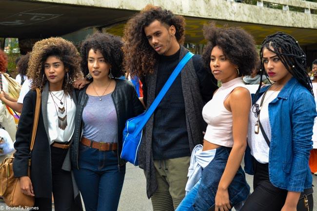 Quem são e o que pensam as mulheres da 3ª Marcha do Orgulho Crespo de São Paulo 17