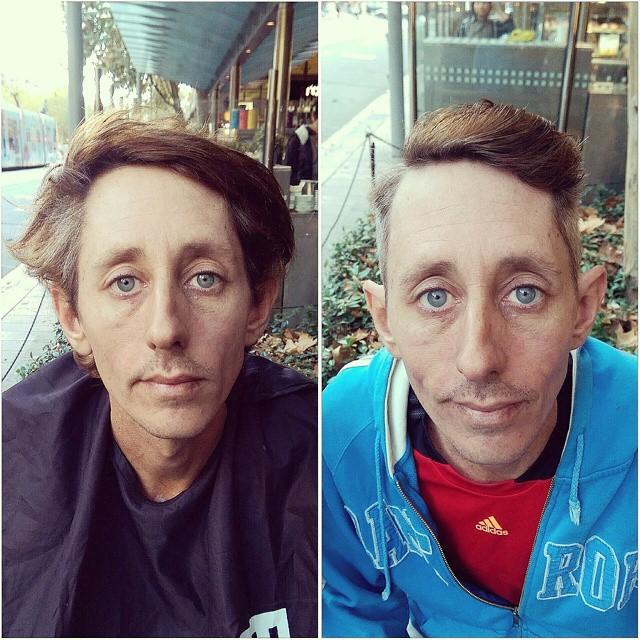 Barbeiro passa o único dia de folga cortando cabelo de moradores de rua 11