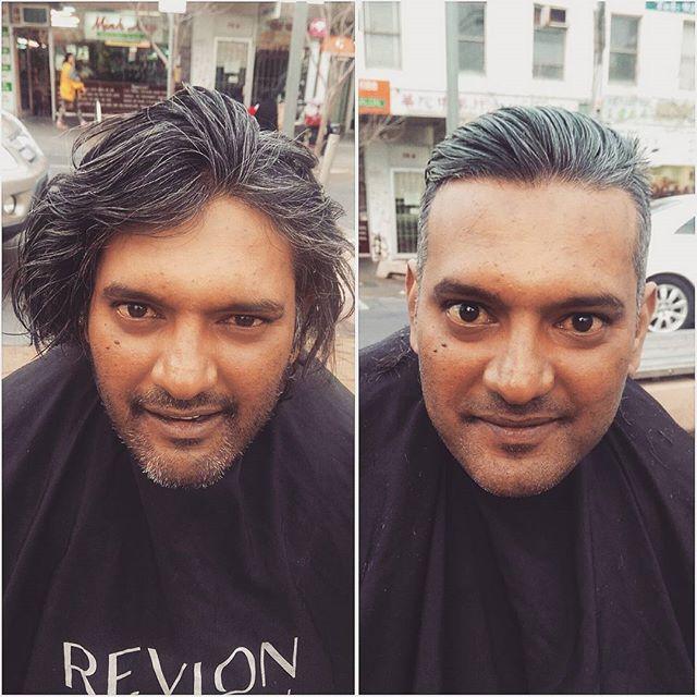Barbeiro passa o único dia de folga cortando cabelo de moradores de rua 7