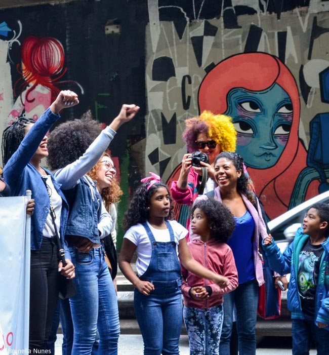 Quem são e o que pensam as mulheres da 3ª Marcha do Orgulho Crespo de São Paulo 8
