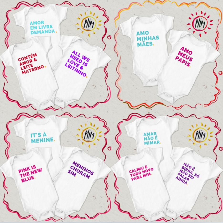 Projeto Bebênfeitor pretende gerar renda extra para as mães com bodies 2