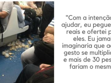Jovens derrubam empadas no trem do Rio e passageiros se mobilizam para eles não ficarem no prejuízo 4