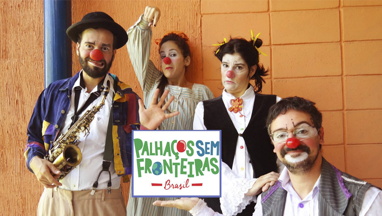 Projeto brasileiro leva a magia do palhaço para refugiados, abrigos, ocupações e alojamentos 3