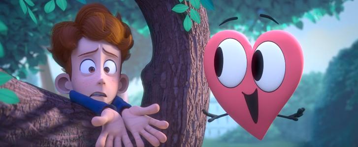 Animação muito fofa conta a história de dois garotos que descobrem o amor 2