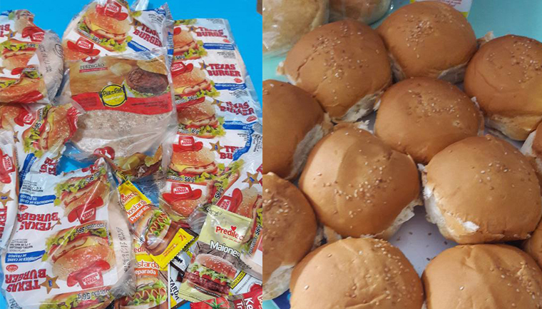 Com o 'coração partido', professora de creche pública faz 'hamburgada' para alunos no Rio 1