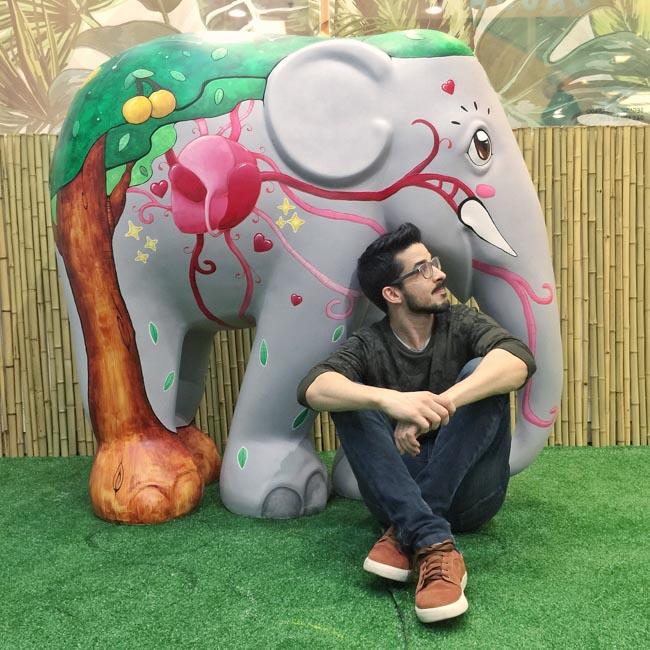 Elephant Parade em São Paulo envolve arte e conscientização para preservar elefantes 6