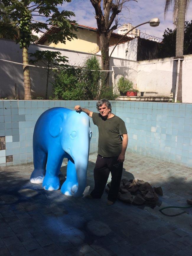 Elephant Parade em São Paulo envolve arte e conscientização para preservar elefantes 5