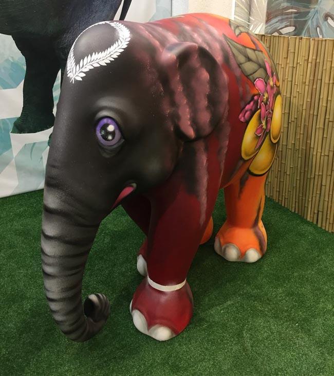 Elephant Parade em São Paulo envolve arte e conscientização para preservar elefantes 3