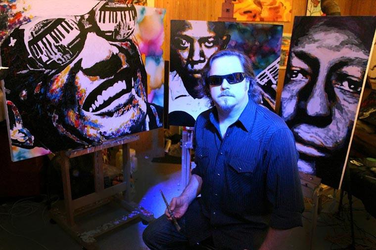 artista cego