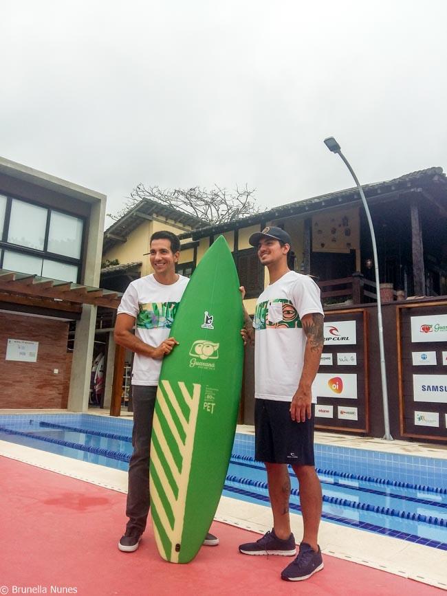 instituto gabriel medina pranchas surf garrafas pet