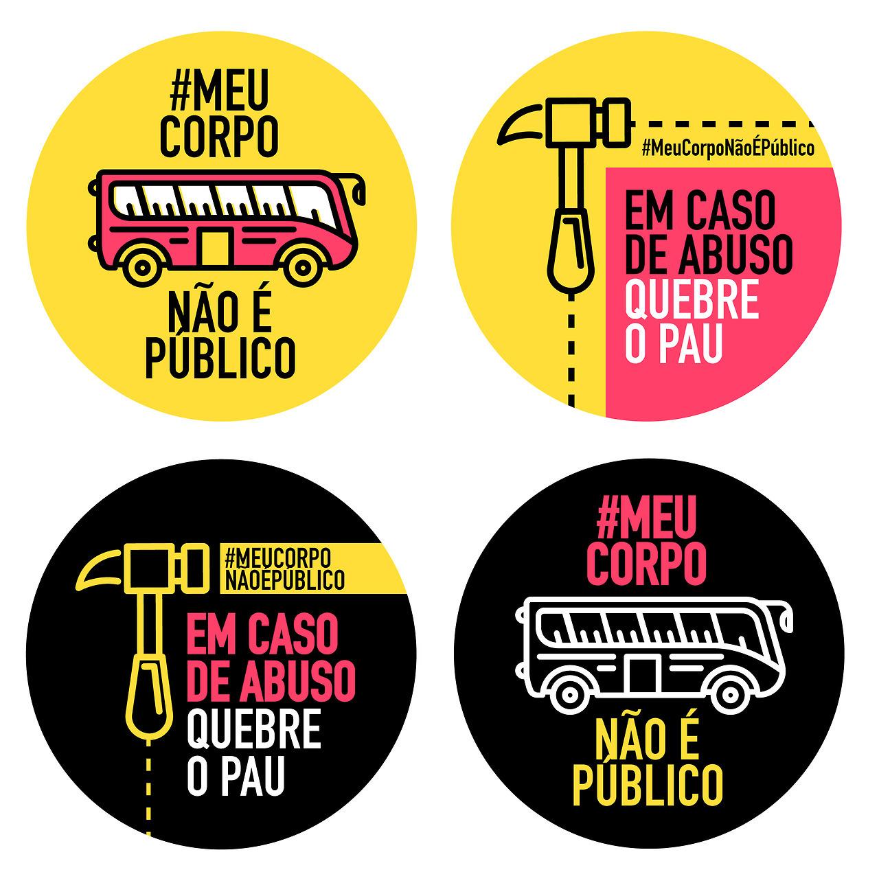 Mulheres se unem em movimento contra abusadores no transporte público: #MEUCORPONÃOÉPÚBLICO 9
