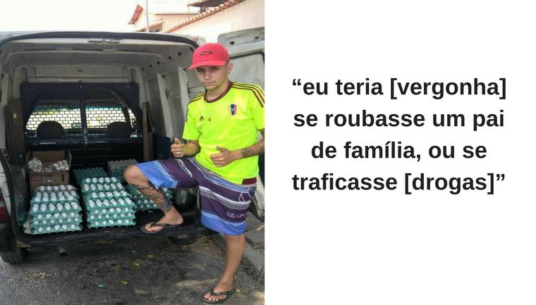 Vendedor de ovos viraliza nas redes sociais após 'mina' zombar do trabalho dele 1