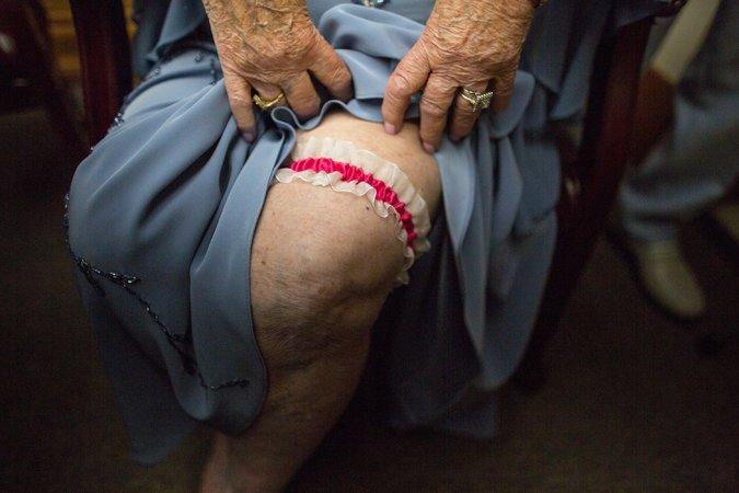 Ele com 94 anos e ela, 98, casaram-se depois de terem se conhecido na academia 6