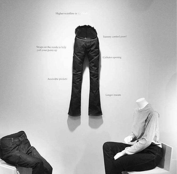 Estilista paraplégica cria jeans para deficientes físicos 5