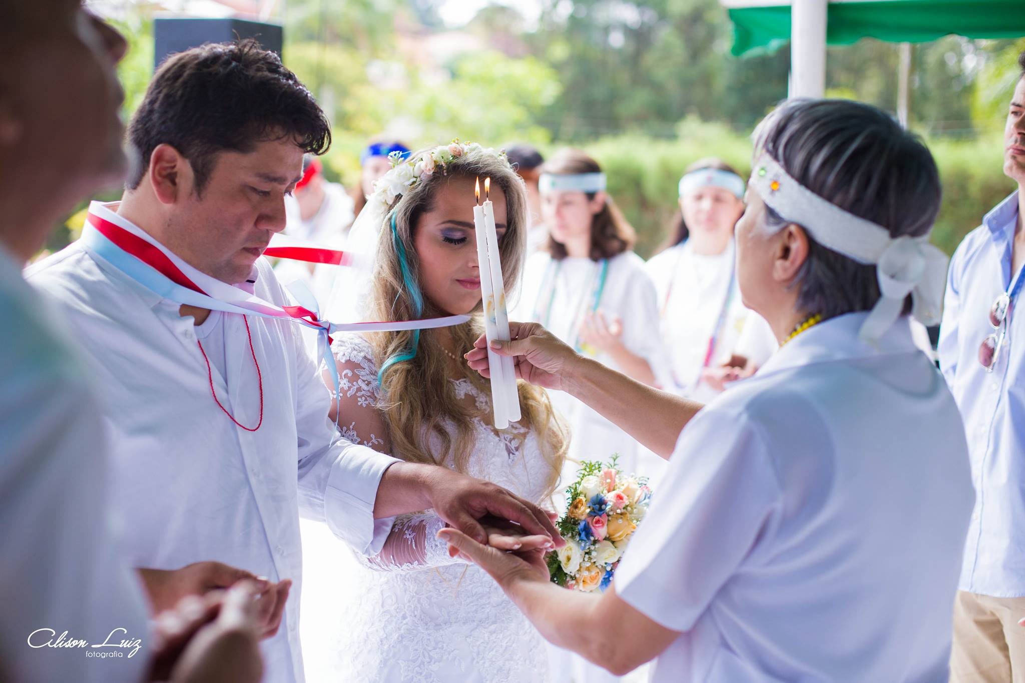 Fotógrafo evangélico registra casamento umbandista e faz lindo relato do que viu 7