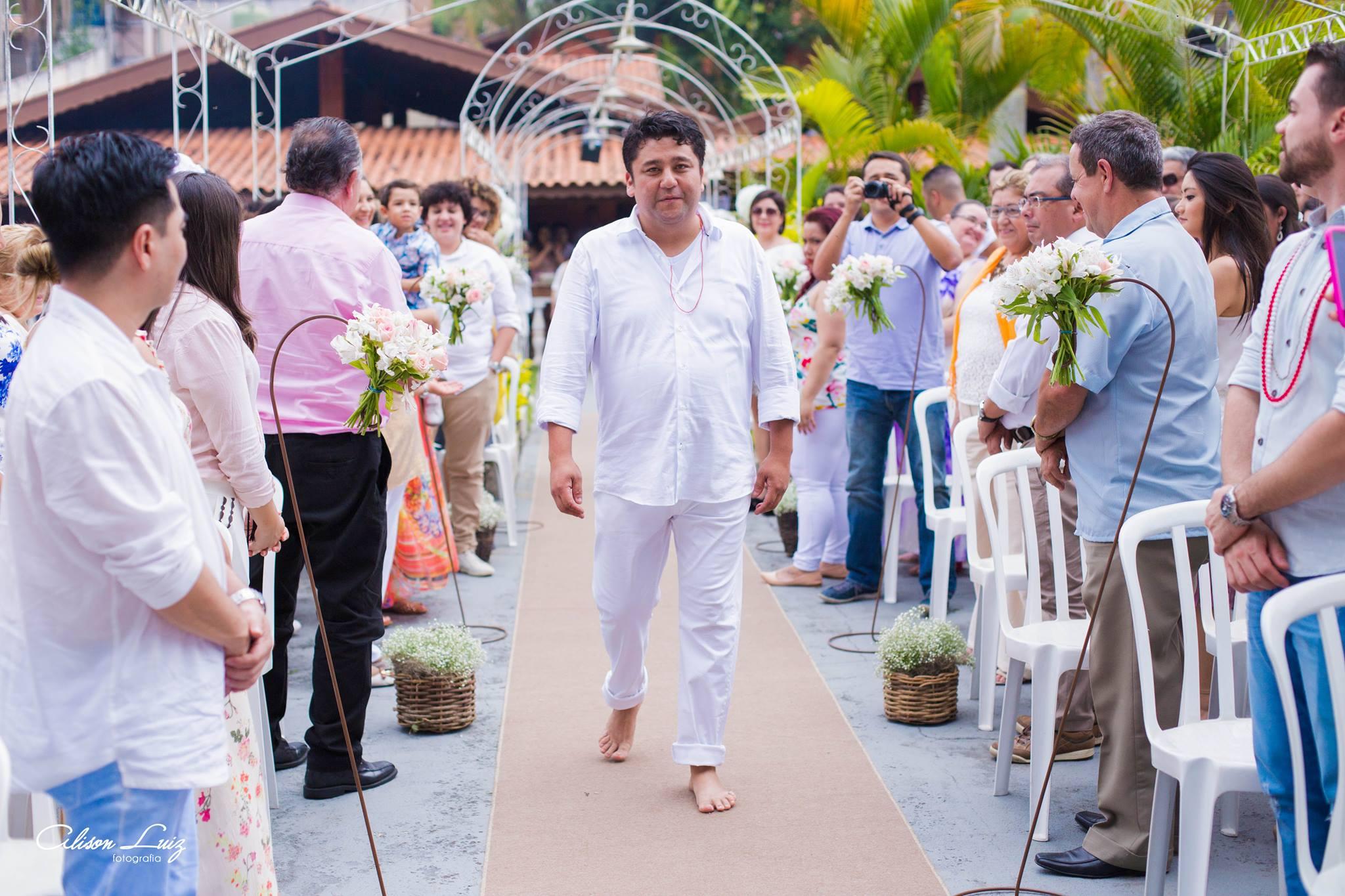 Fotógrafo evangélico registra casamento umbandista e faz lindo relato do que viu 3