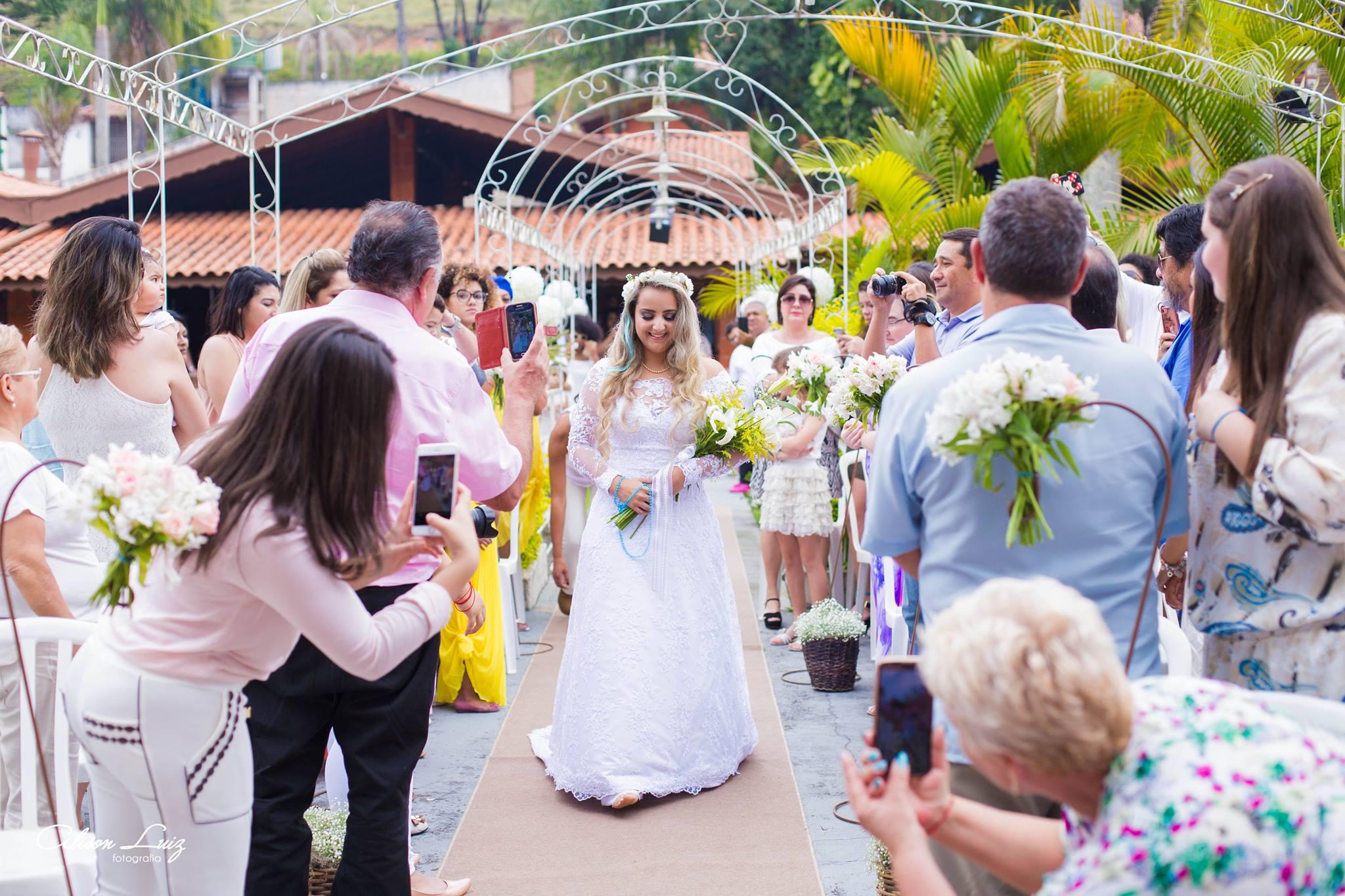 Fotógrafo evangélico registra casamento umbandista e faz lindo relato do que viu 2