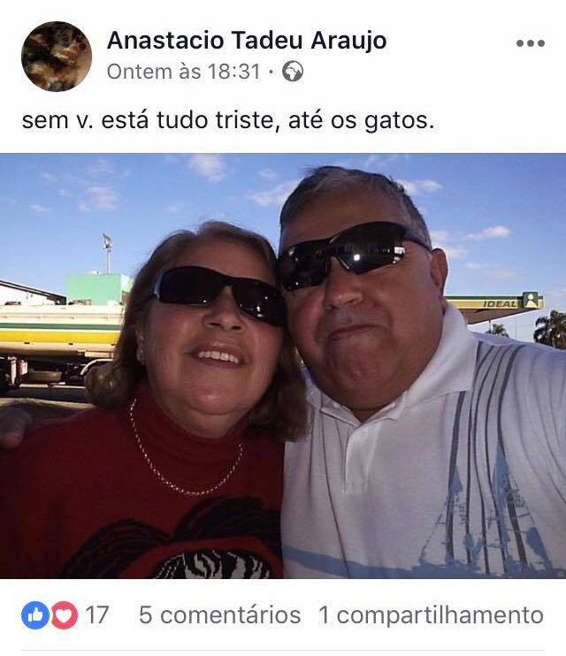 Vovô desabafa saudade da esposa em posts de puro dengo e amor no Facebook 3