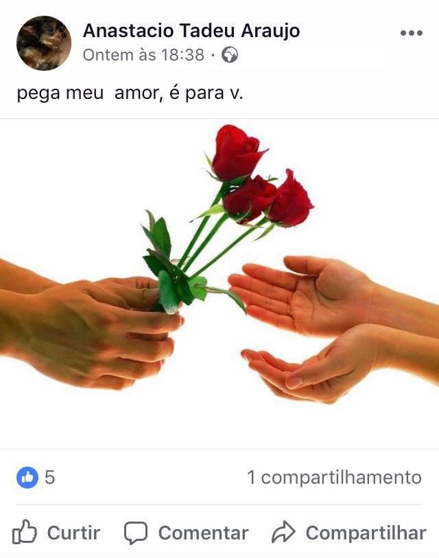 Vovô desabafa saudade da esposa em posts de puro dengo e amor no Facebook 5
