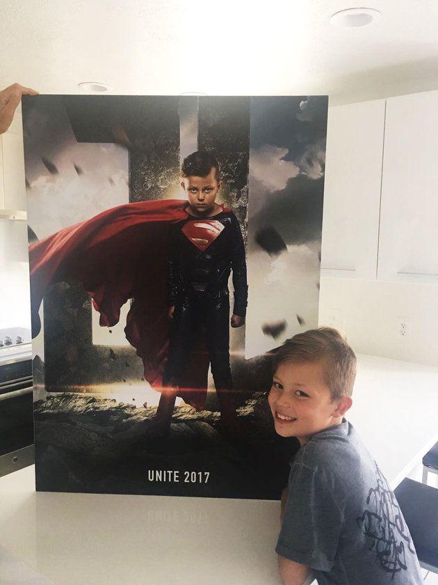 Pai faz ensaio em hospital que transforma crianças em super-heróis 6
