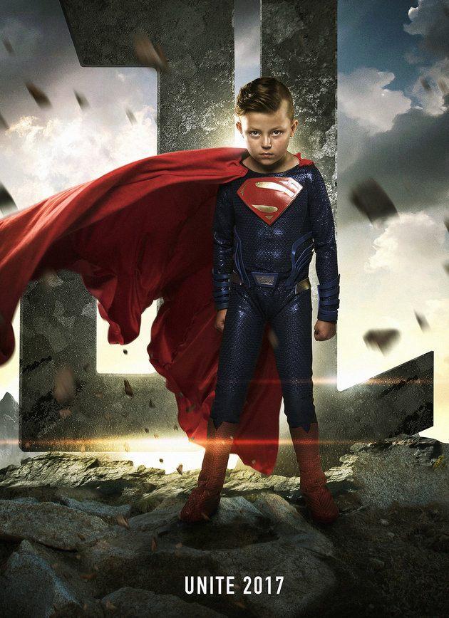 Pai faz ensaio em hospital que transforma crianças em super-heróis 5