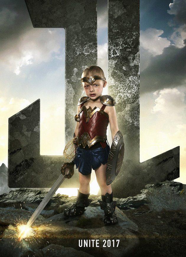 Pai faz ensaio em hospital que transforma crianças em super-heróis 3