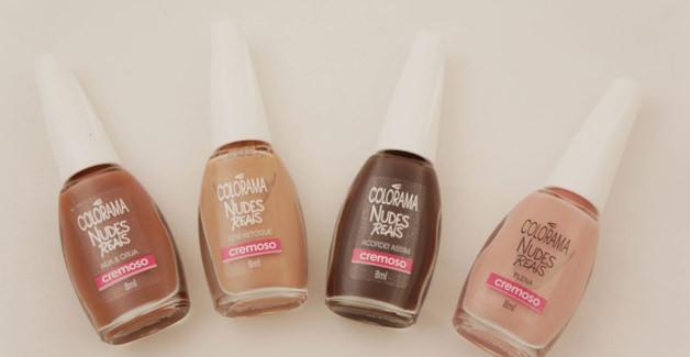 """Colorama lança linha de esmalte """"nude"""" que contempla diferentes tonalidades de pele 4"""