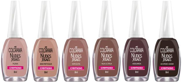 """Colorama lança linha de esmalte """"nude"""" que contempla diferentes tonalidades de pele 5"""