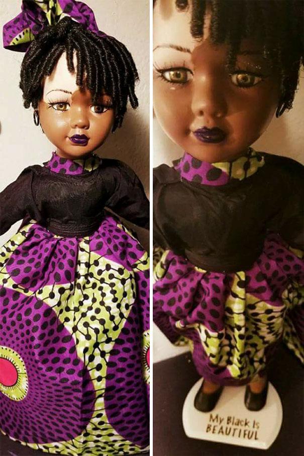 Artista cria bonecas com vitiligo para promover a autoaceitação das crianças com a doença 6