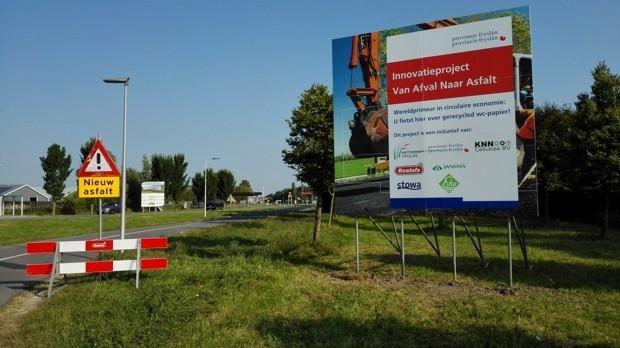 Tecnologia na Holanda recicla papel higiênico para ser usado como asfalto 2