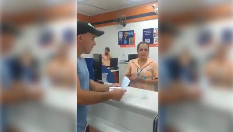 Homem salva emprego de atendente que não debitou sua compra 1