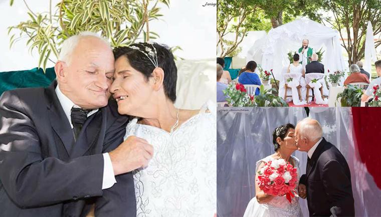 Asilo realiza casamento de velhinhos e eles não poderiam estar mais felizes 1