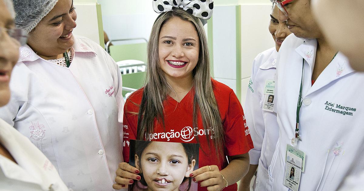 Em Fortaleza, Operação Sorriso realiza cirurgias gratuitas de enxerto ósseo 1