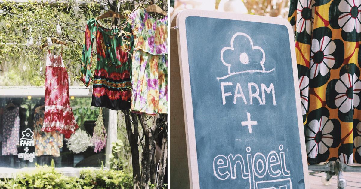 FARM e Enjoei fazem parceria para incentivar o uso de roupas usadas 4