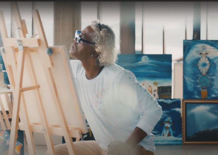 Homem controla a bipolaridade com ajuda da arte e muda o rumo de sua vida 1