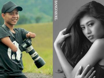 Fotógrafo que nasceu sem as mãos e as pernas arrasa atrás de sua câmera 1