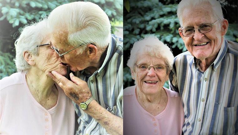 Neta fotografa avós sem que eles soubessem para capturar seu amor atemporal 8