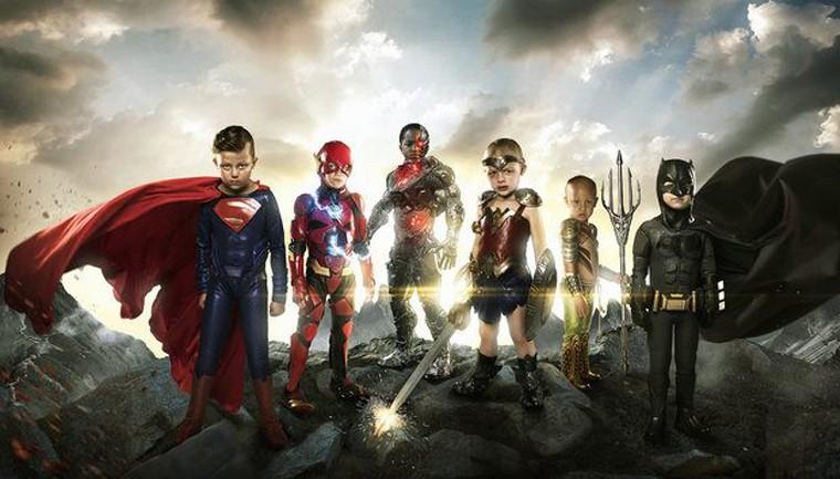 Pai faz ensaio em hospital que transforma crianças em super-heróis 1