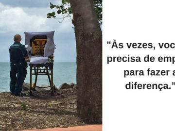 Paramédicos desviam rota da ambulância para realizar último desejo de mulher: ver o mar 2