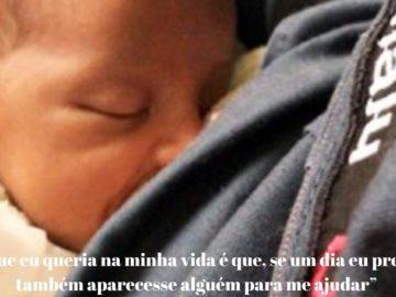 PM amamenta filho recém-nascido de mulher que foi em busca de ajuda 3