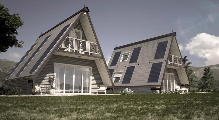 Italiano desenvolve casa alternativa e dobrável que pode ser montada em até 6 horas 2