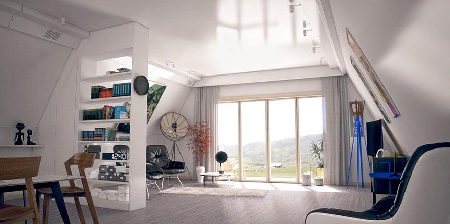Italiano desenvolve casa alternativa e dobrável que pode ser montada em até 6 horas 4