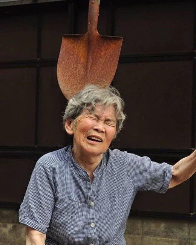 Essa vovó japonesa de 89 anos adora se fotografar em situações hilárias 6