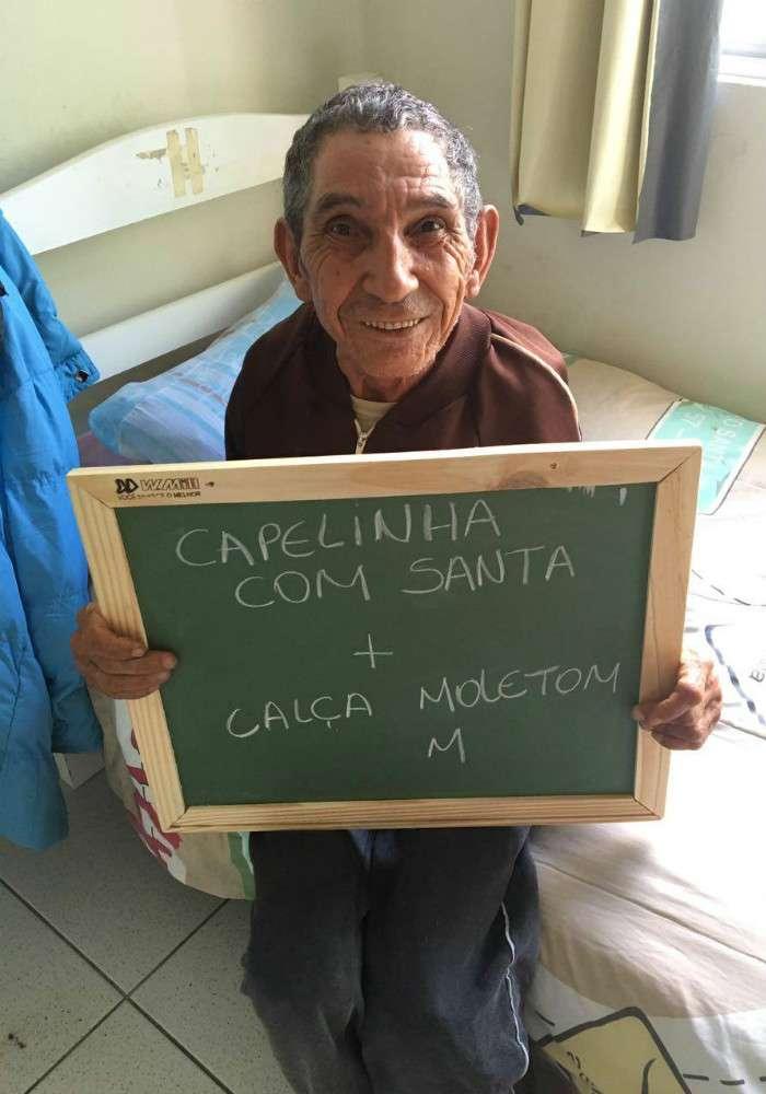 Um ano após campanha de Natal, asilo no Paraná continua recebendo doações e visitas 3