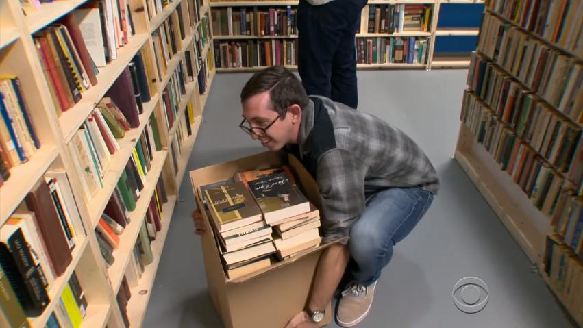 Como um depósito está fornecendo milhares de livros de forma gratuita 3