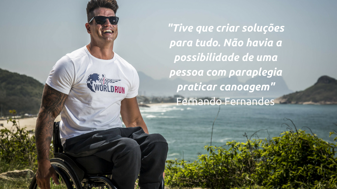 Atleta paralímpico Fernando Fernandes debate inclusão de pessoas com deficiência nos esportes 1