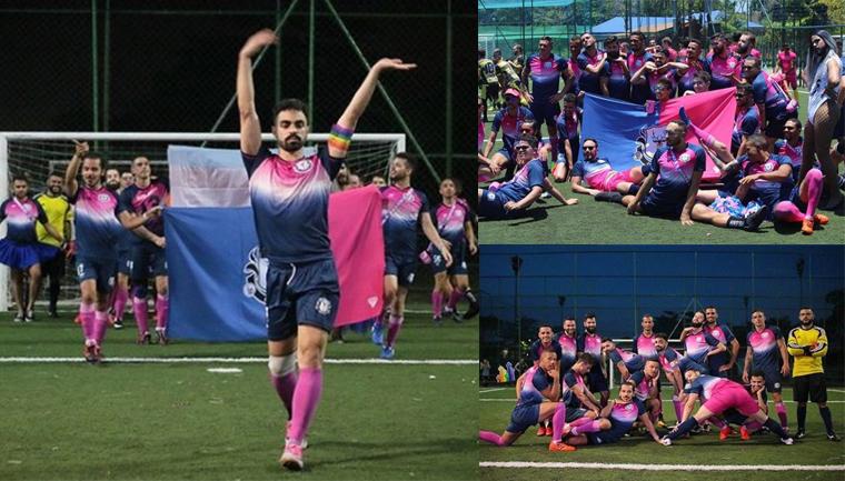 Em campeonato de futebol para homens gays, equipe afeminada ganha primeira edição 1