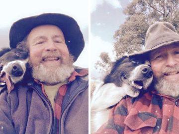 Filha ensina pai a tirar selfie sem imaginar que ele viraria uma sensação na internet 2